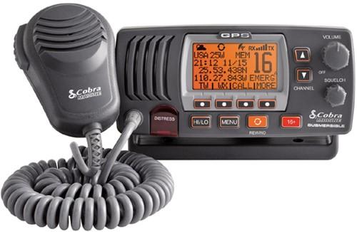 Cobra F77B GPS Marifoon Atis/DSC