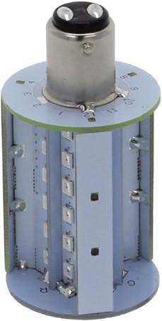BaY15D 10-35VDC 4.0W/30W TriColor