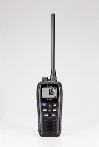 Icom M25 Handmarifoon Metallic Grey