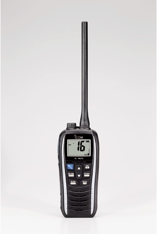 Icom M25 Handmarifoon Pearl White