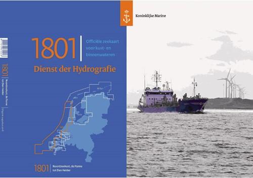 Hydrografische kaart Noordzeekust  1801 2017