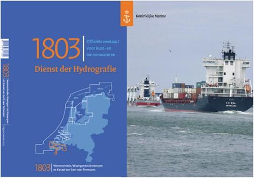Hydrografische kaart Westerschelde 1803 2021