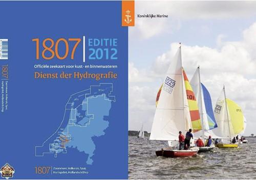 Hydrografische kaart Hollands Diep 1807 2018