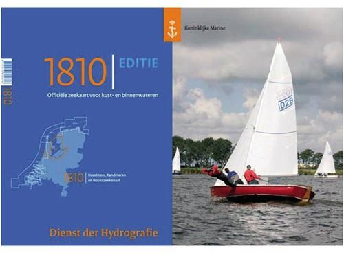 Hydrografische kaart IJsselmeer    1810 2018