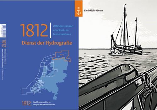 Hydrografische kaart Wadden Oost  1812 2021