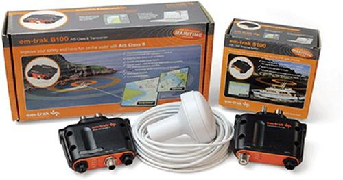 Em-trak B100, GPS antenne, Splitter pakket