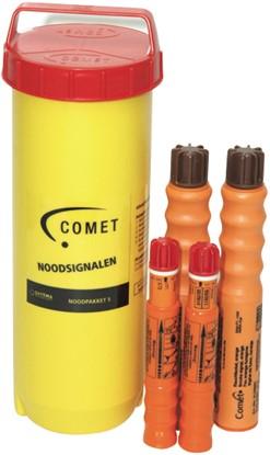 Comet Noodpakket nr.5 noodsignalen Inshore - Waterdichte container