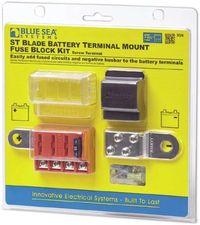 BS Battery Mount Fuse Block Kit
