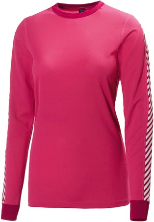 HELLY HANSEN DAMES THERMO SHIRT DRY MAGENTA XS