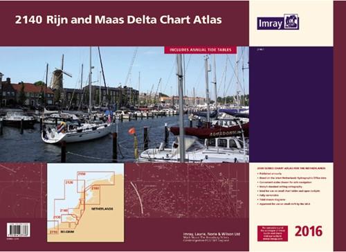 Imray kaartenset 2140 Rijn-Maas