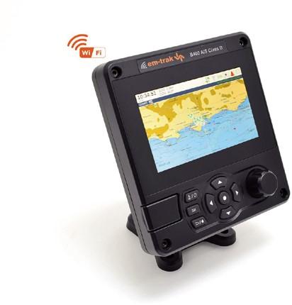 Em Trak B400 Class B Ais transponder met interne GPS - NMEA2000 - NMEA0183 - 5W zendvermogen