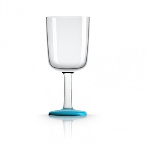 Marc Newson - wijnglas - blauw