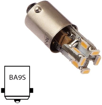 Ba9S 10-30VDC 1.2W/10W WW