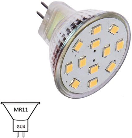 MR11 10-30VDC 1.9/15W WW-120