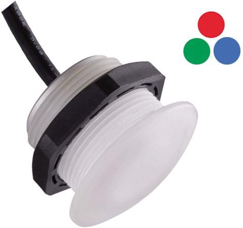 RGB IP67 PC spot  40/30x27 12V