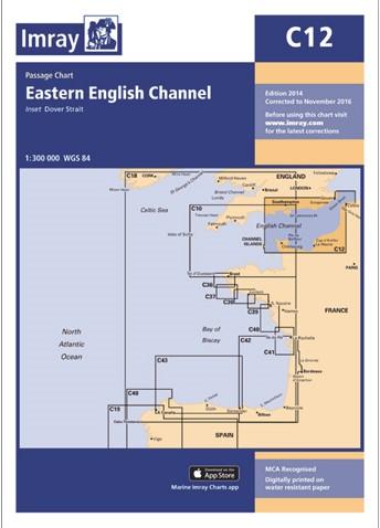 Imray kaart C 12 Noordzee