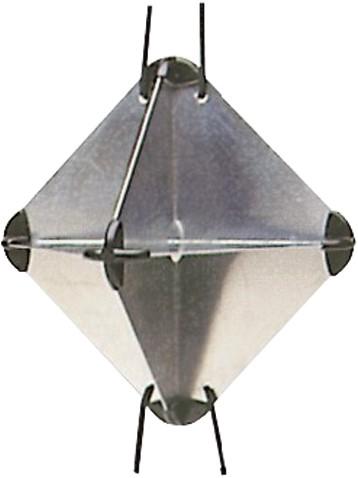 Radarreflector Alu groot 47
