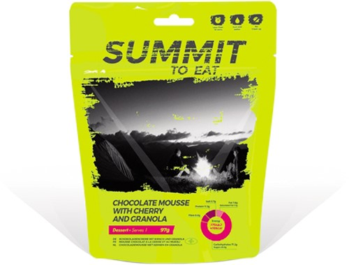 Summit to Eat Chocolate Mousse