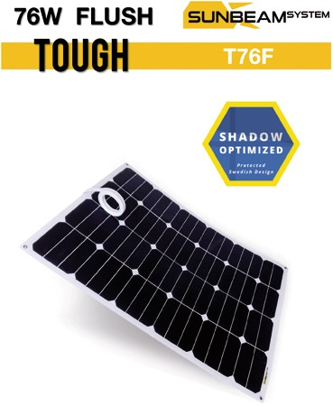 Sunbeam Tough 78W Flush Flexibel zonnepaneel