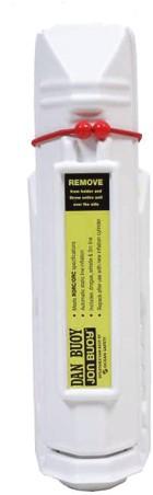 Jonbuoy Danbuoy opsporingsstaak wit Model 2020