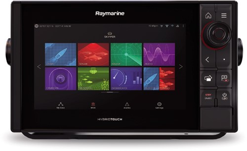 Raymarine AXIOM 9 Pro-S, HybridTouch