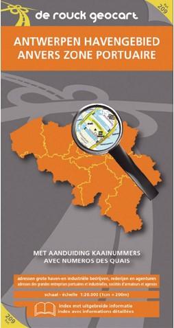 De Rouck Geocart - Havenkaart Antwerpen