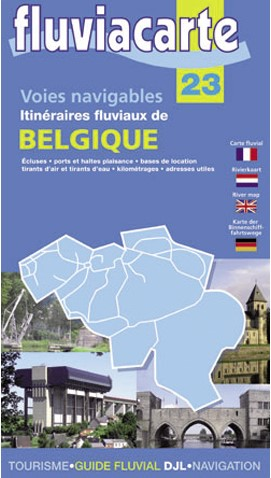 BELGIE 23 - CARTE GUIDE
