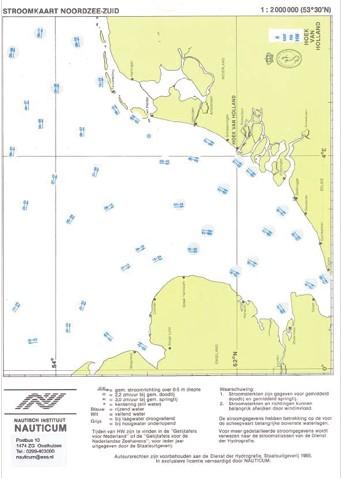 Stroomschuif Noordzee Zuid