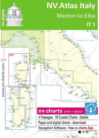 NV Atlas IT1 Menton to Elba