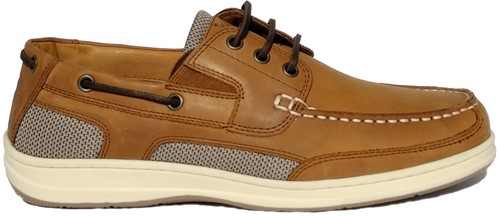 BluePort Atlantic 3 bootschoen eye tan