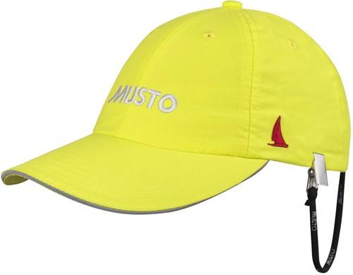 Musto 80032 Ess Fd Crew Cap Sulphur Spr O/S
