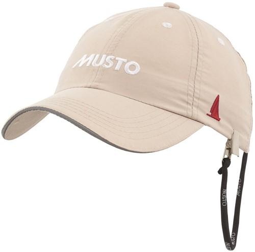 Musto 80032 Ess Fd Crew Cap Light Stone O/S