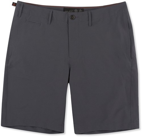 80438 Rib Uv Fd 4 Pkt Short Charcoal