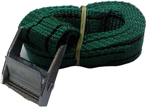 U Rope Spanband groen 1,5m