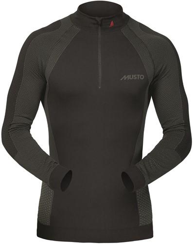 Musto 80881 Active B.Layer Shirt Zip Neck Black M/L