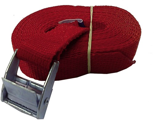 U Rope Spanband rood 3,5m