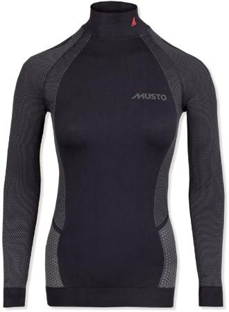 Musto 80912 Dames Active B.layer Shirt Black 8-10