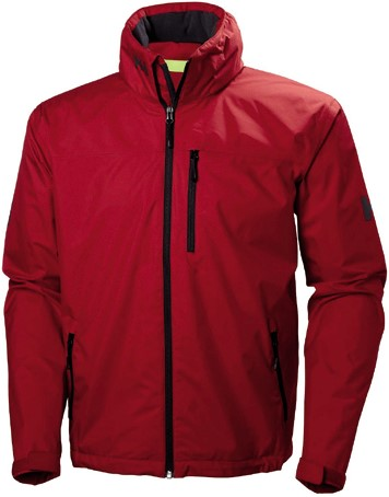 Helly Hansen Crew Hooded Jacket red S