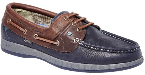 Dubarry Mariner Bootschoen  Navy/Brown 42