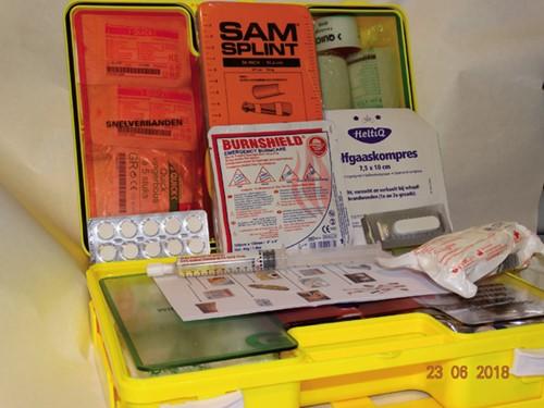 Verbandtrommel EHAB / EHBO koffer
