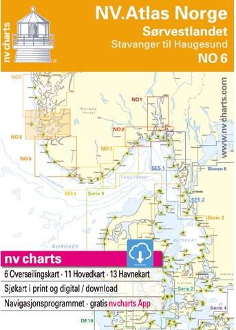 NV. Atlas NO6 Noorse Z/W Kust Noord