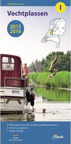 ANWB Waterkaart.19. Nederlandse Kust