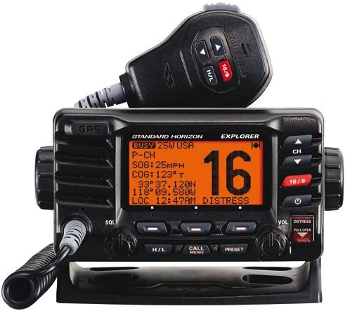 Standard Horizon GX1850 E DSC/GPS Marifoon