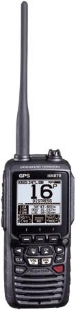 Standard Horizon HX890E DSC/GPS Handmarifoon - Drijvend- 6W - MOB functie