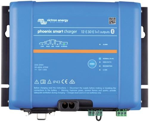 Victron Phoenix Smart IP43 12/30(1+1) Acculader