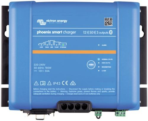 Victron Phoenix Smart IP43 12/50(3) acculader