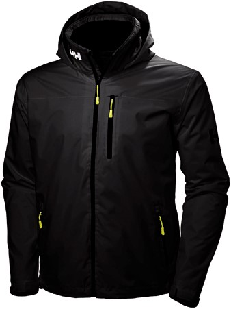Helly Hansen Crew Hooded Jacket black