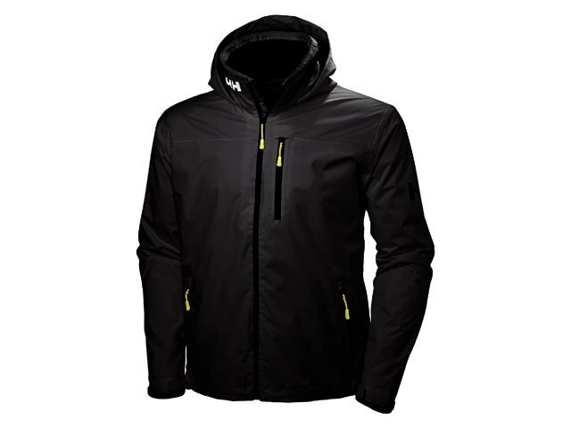 Helly Hansen Crew Hooded Jacket black