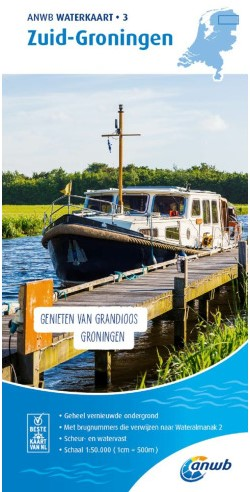 ANWB Waterkrt. 3. Zuid-Groningen