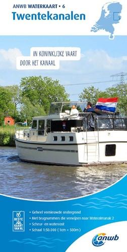 ANWB Waterkaart 6. Twentekanalen
